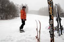 Víkendové lyžování v Merklíně na Karlovarsku