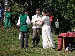 Skoky u Žlutic - První svatba po letech