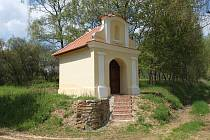 Poutní kaple Panny Marie u Lachovic na Toužimsku