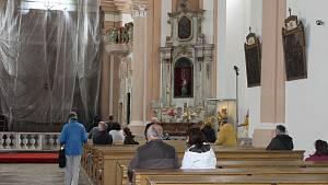 Po dlouhé době se konala v sedleckém kostele komentovaná prohlídka.