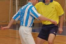 FET CLUB bude dnes spoléhat hlavně na futsalové umění a střeleckou produktivitu Tomáše Kalána (vlevo).