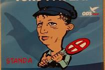 To nevadí? ODS si v předvolební kampani v roce 2004 dělala legraci ze Stanislava Grosse z konkurenční ČSSD.