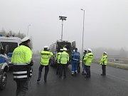 Společná kontrolní akce českých a německých policistů s využitím nové techniky.