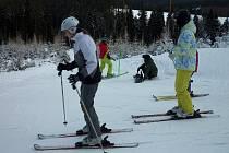 LYŽAŘSKÁ SEZONA byla spíše z těch průměrných, v horách chyběl přírodní sníh.