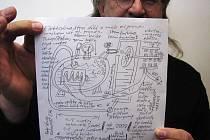Takto vypadá nabídka vynálezce a schéma elektrárny, která nepotřebuje palivo.