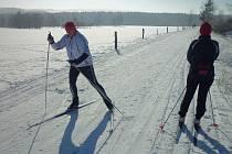 Lyžaři si užijí nejen na sjezdovkách, připraveny budou také trasy pro běžkaře.