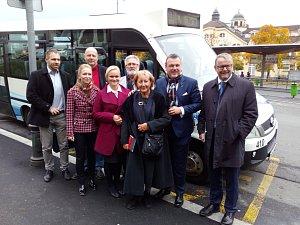 Předvolební autobus Deníku
