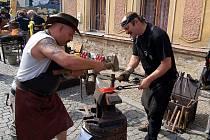 Kovářské sympozium v Bečově nad Teplou.