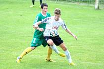Divizní fotbalisté karlovarského 1. FC hostili, vyhráli 4:3.
