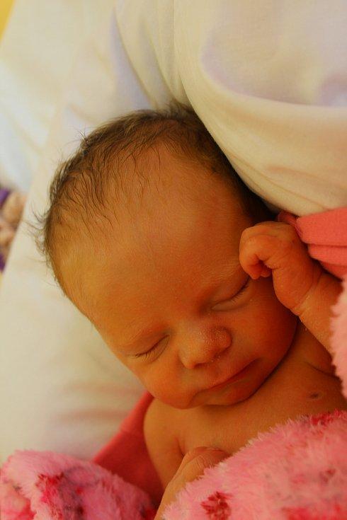 Mija Prokůpková z Teplé se narodila 6. září
