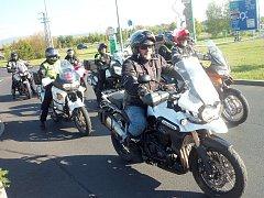 Tradiční akce pořádané karlovarskými Lion Bikers se zúčastnily stovky motorkářů z regionu.