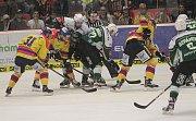 Hokejová sezona pokračovala dramatickým soubojem Motoru České Budějovice s Energií Karlovy Vary