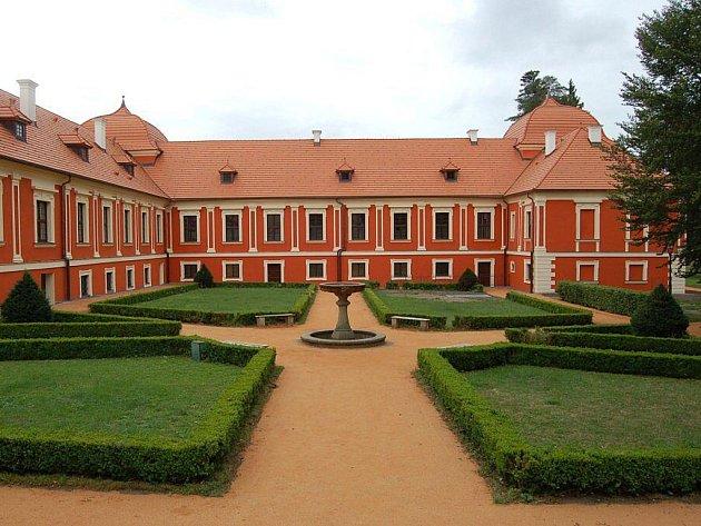 Palác princů vOstrově.