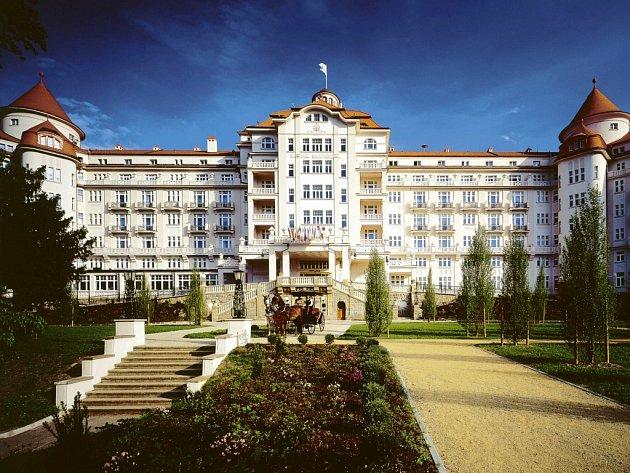 Hotel Imperial v Karlových Varech.
