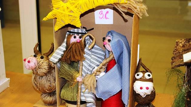 Josef s Marií z odpadků, jako by si z oka vypadli, nemyslíte? Fantazii se při soutěži meze nekladly, naopak.