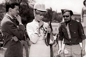 Karel Gott při natáčení muzikálu Kdyby tisíc klarinetů na Chebsku