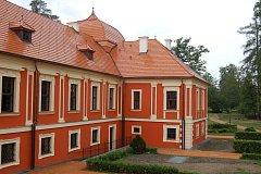 ZREKONSTRUOVANÝ Palác princů v Ostrově.