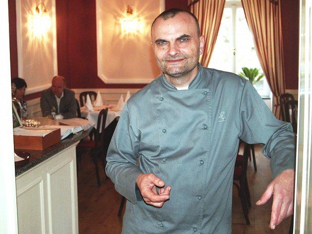 Jan Krajč, šéfkuchař karlovarské zážitkové restaurace Le Marché.