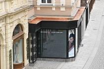 Rozšíření prodejny v Lázeňské ulici.