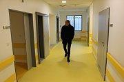 Nové plicní oddělení v karlovarské nemocnici.