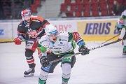 Utkání 45. kola hokejové Tipsport extraligy Energie Karlovy Vary - Mountfield HK 1:4