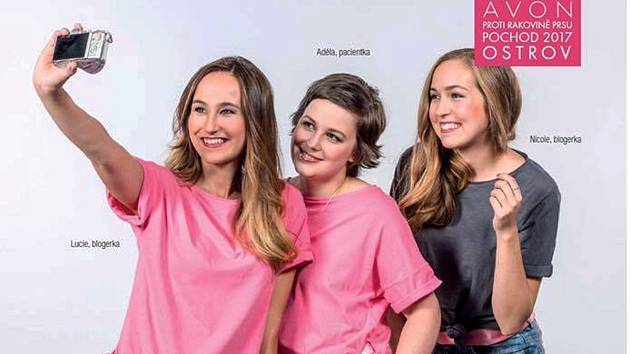 AVON POCHOD opět podpoří ženy s rakovinou prsu.
