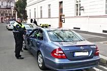 Největším počtem strážníků disponuje krajské město Karlovy Vary.