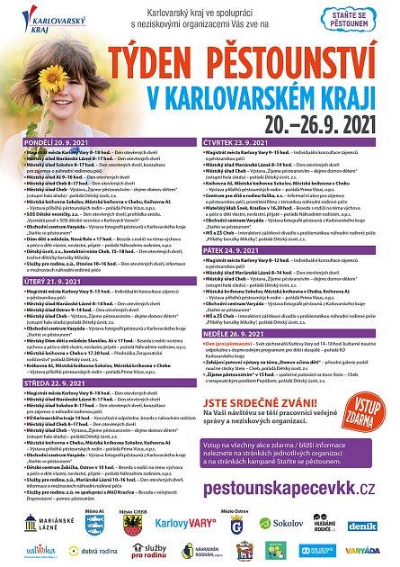 Program Týdne pěstounství vKarlovarském kraji.