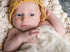 AMÁLKA (příjmení neuvádíme) z Doubí se narodila 5. 1. 2017