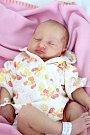 Karolínka Řeháčková z Čankova se narodila 15. 5. 2015
