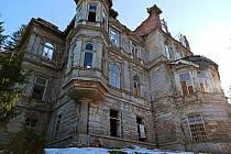 Mattoniho vila v Lázních Kyselka.