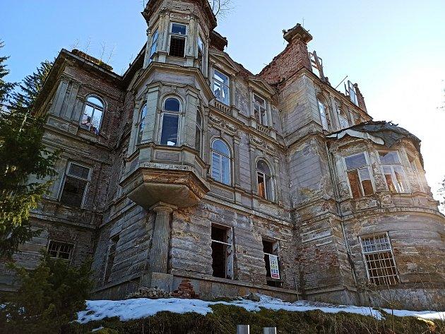 Mattoniho vila vLázních Kyselka.