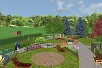 Terapeutická zahrada farní charity