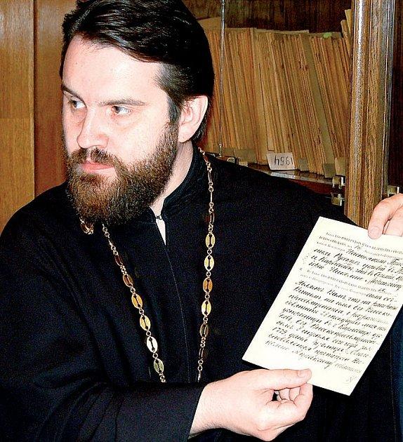 Děkan pravoslavného kostela svatého Petra.