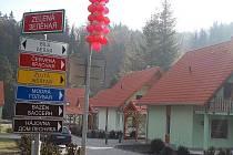Ruská vesnička v Březové.
