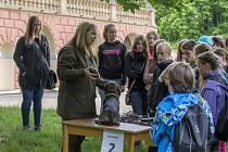 LESNÍ PEDAGOGOVÉ už navštívili například speciální školu v Rakovníku, kde pro děti připravili zajímavé ukázky.