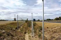 Plotů kolem dálnice D6 bude přes 30 kilometrů a hotové mají být do konce roku.