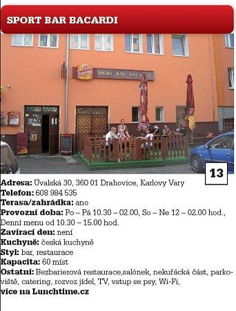 Sport Bar Bacardi