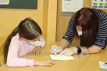 Testování ve škole. Ilustrační foto.