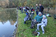 Podzimní závody mladých rybářů.