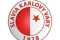 Logo FC Slavia Karlovy Vary.