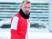 Trenér FC Slavia Karlovy Vary U19 Marián Geňo.
