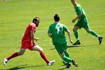Fotbalisté 1. FC porazili Chomutov 3:1.