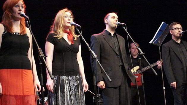 Při koncertu pokřtí Vocal Band Quartet své nové CD