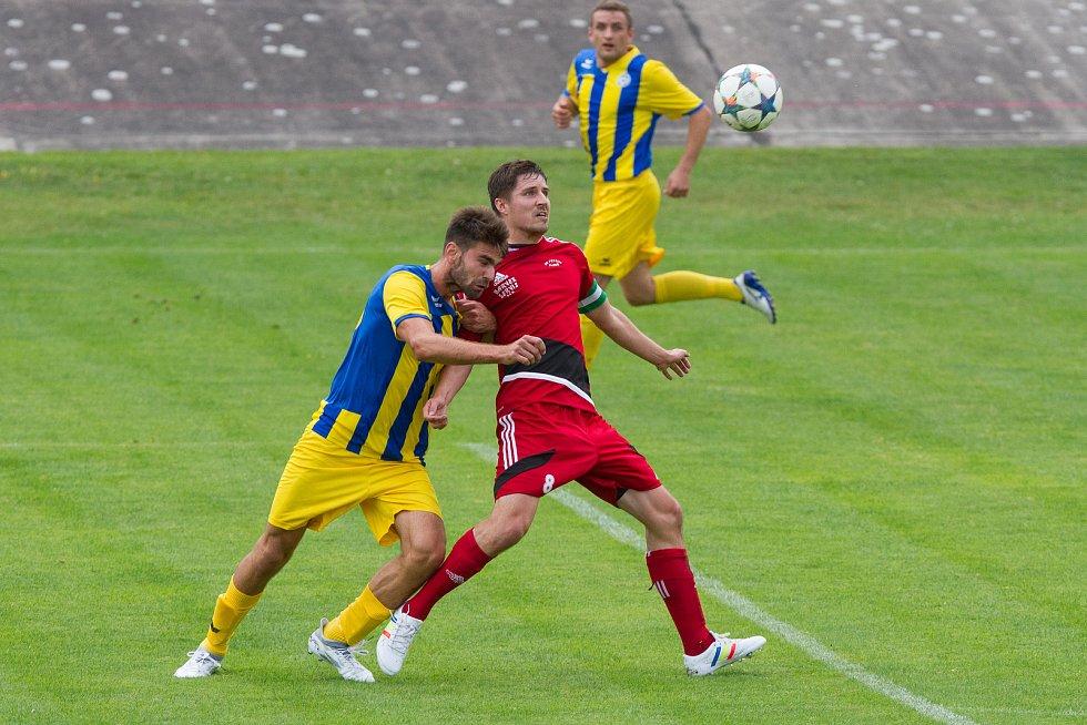 Mariánskolázeňští fotbalisté odjížděli do Plzně na hřiště Petřína s cílem urvat alespoň bodík. To se ale nepovedlo.