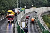Dopravní nehoda na průtahu městem, ke které došlo v pondělí 14. září odpoledne