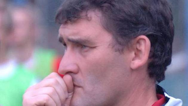 Jiří Vican, trenér Spartaku Chodov.