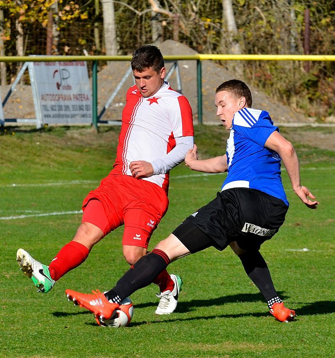 Karlovarská Slavia uhrála s Domažlicemi bezbrankovou remízu.