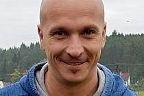 Štěpán Dubaj, trenér Baník Královské Poříčí.