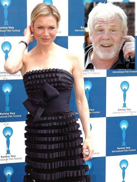 Minulý rok navštívila MFF herečka René Zellweger. Letos přiletí populární Nick Nolte (menší snímek).
